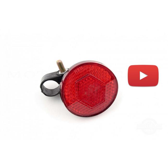 Светоотражатель   велосипедный   (катафот)   (красный)   YKX, компл.