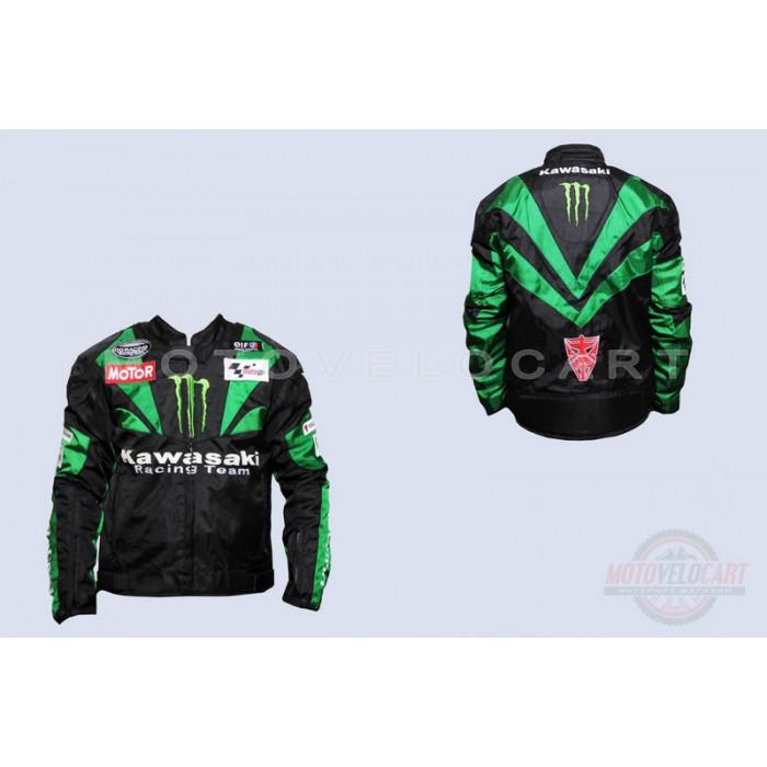 "Мотокуртка текстиль   (size:XL, ""MONSTER ENERGY"")   ""KAWASAKI"""