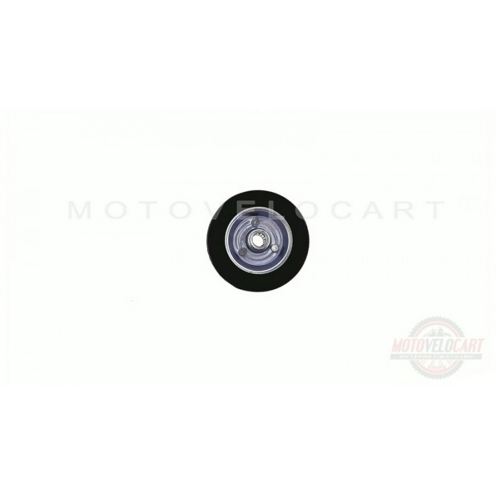 Колесо для тачек и платформ (литая резина)   (100/30- 50mm, игольчатый подшипник)   MRHD, шт