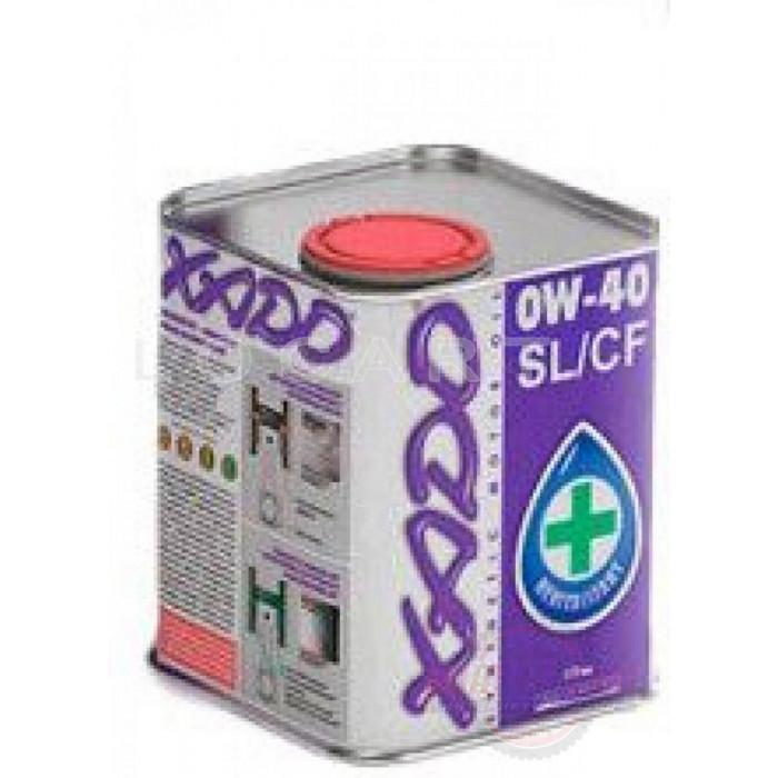 Масло автомобильное 1л   (синтетика, 0W-40SL/CF Atomic Oil)   (20102)   ХАДО, шт