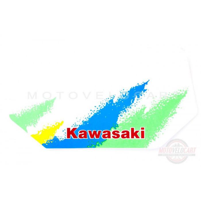 Наклейки (набор)   KAWASAKI   (29х14см)   (#0768), шт