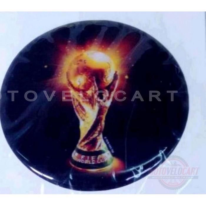 Наклейка   Кубок ЧМ FIFA   (7x6см, силикон)   (#SEA), шт