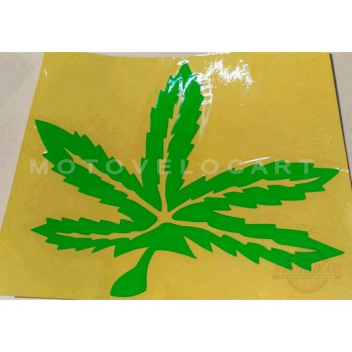 Наклейка   декор   GREEN   (14х16см, зеленая)   (#0426), шт