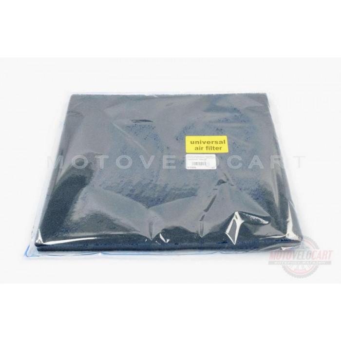 Элемент воздушного фильтра   заготовка 250х300mm   (поролон с пропиткой)   (черный)