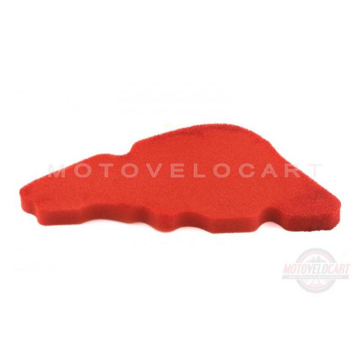 Элемент воздушного фильтра Piaggio LIBERTY (поролон с пропиткой) (красный)