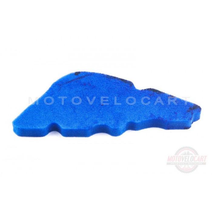 Элемент воздушного фильтра Piaggio LIBERTY (поролон с пропиткой) (синий)