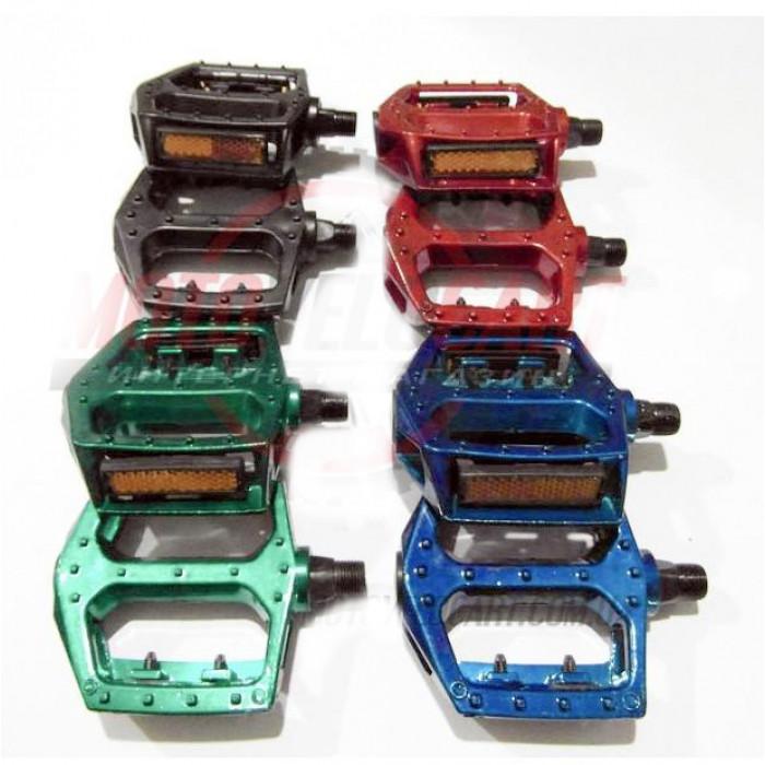 Педали алюминиевые, цветные, mod:V-07 (#MD) (пара)